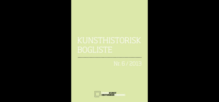 Kunsthistorisk Bogliste nummer 6