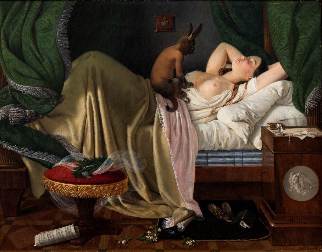 Ditlev Blunck: Mareridt. 1846