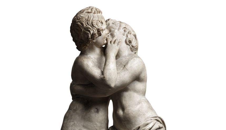 Amor og Psyche (afstøbning af romersk kopi fra 2. årh.)