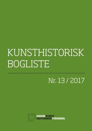 KunsthistoriskBogliste_2017-13_forside