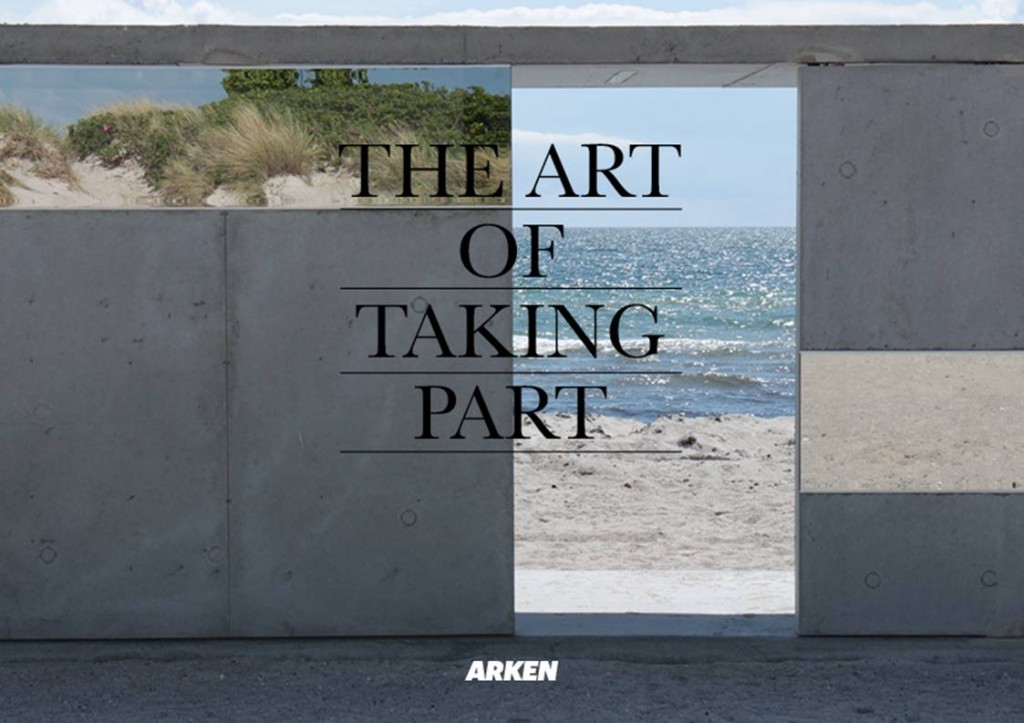 ARKEN Bulletin: The Art of Taking Part, vol. 7, 2017. 168 sider. Redaktion: Christian Gether, Stine Høholt og Camilla Jalving.