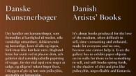 Anmeldelse af Danske Kunstnerbøger / Danish Artists' Books